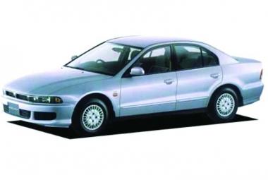 Коврики EVA Mitsubishi Galant VIII (правый руль) 1996 - 2006