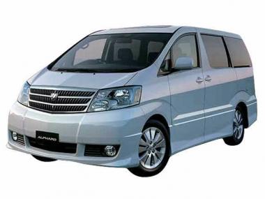 Коврики EVA Toyota Alphard 2002-2008 I поколение (